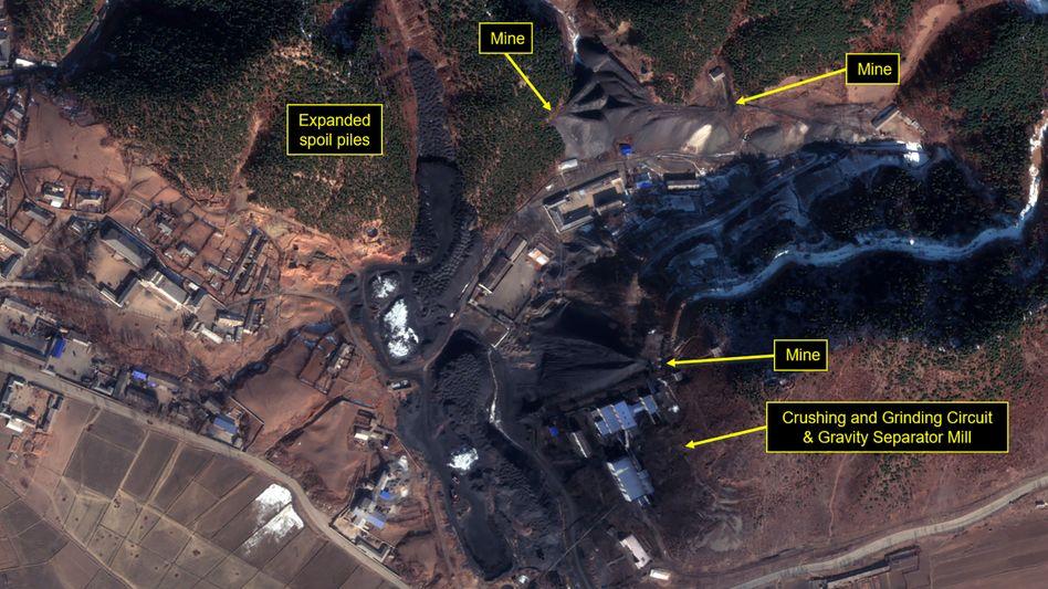 Nordkoreanische Uranmine (Archivbild)