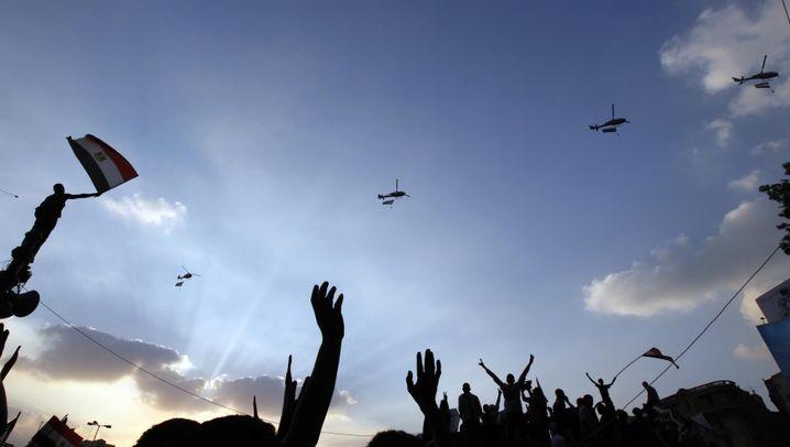 Massenproteste: Der dramatische Tag in Kairo