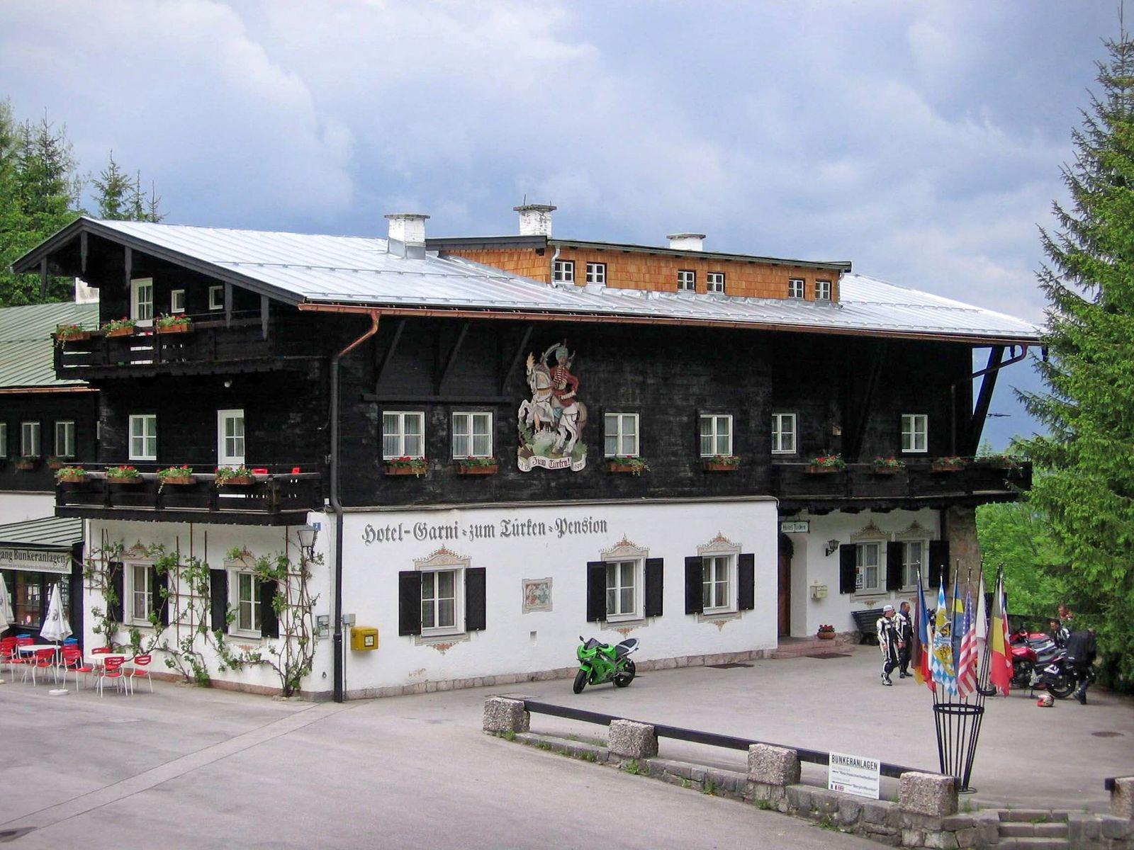 June 6 2006 U S The Hotel zum Tuerken is one of the few Nazi era buildings to survive the 1945
