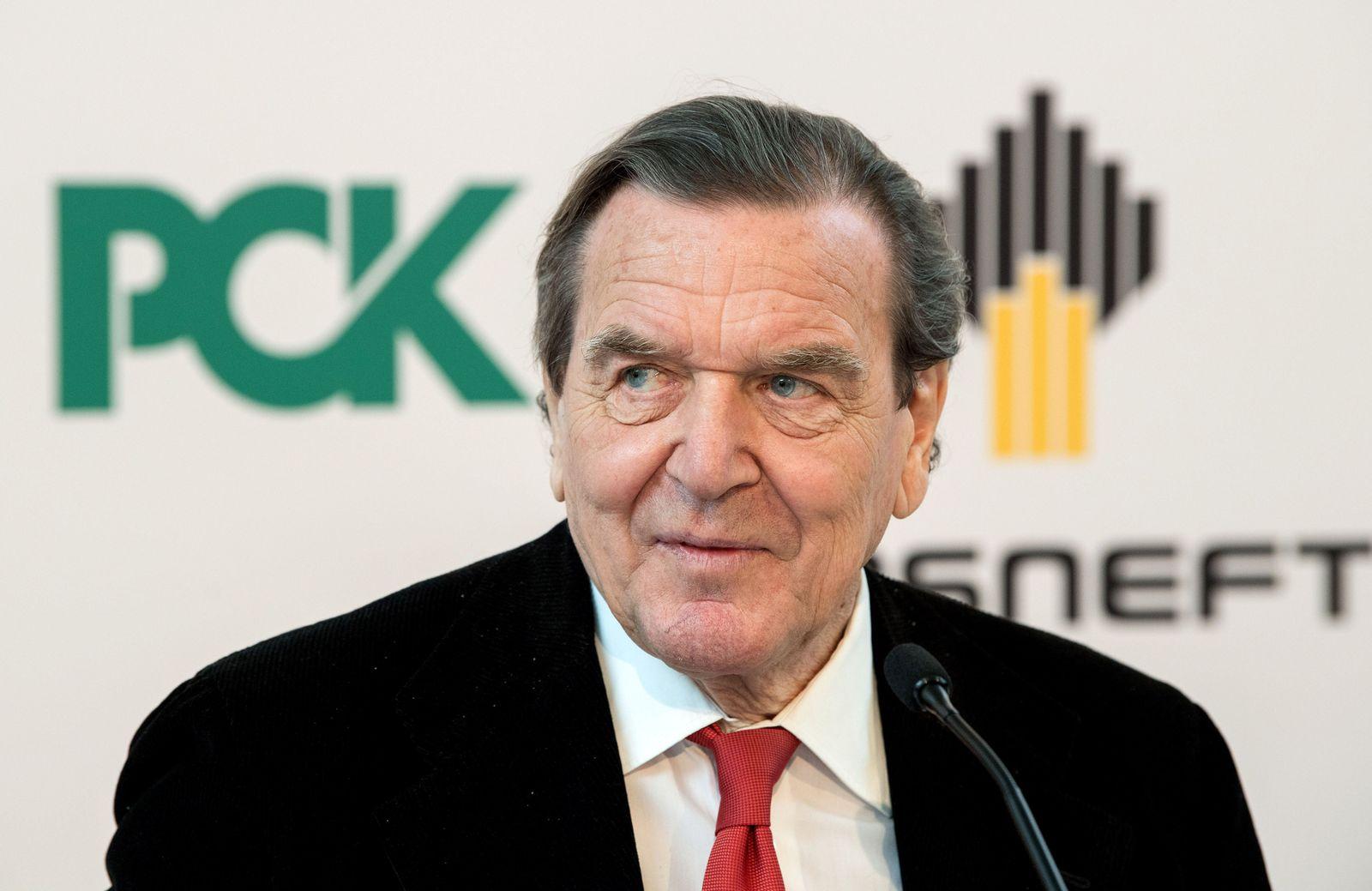 Politikveteranen/ Schröder