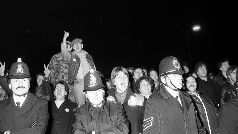 Streikende Bergleute, 1984: Held, Feigling oder Schurke