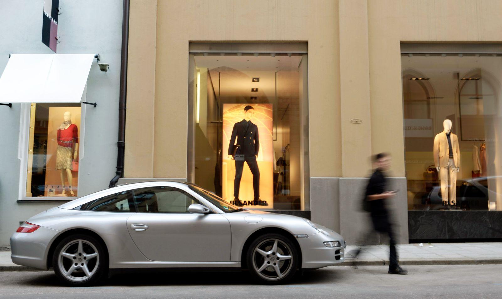 Deutschland / Reichtum / Reich / Reiche / Luxus Luxus-Steuer / Porsche