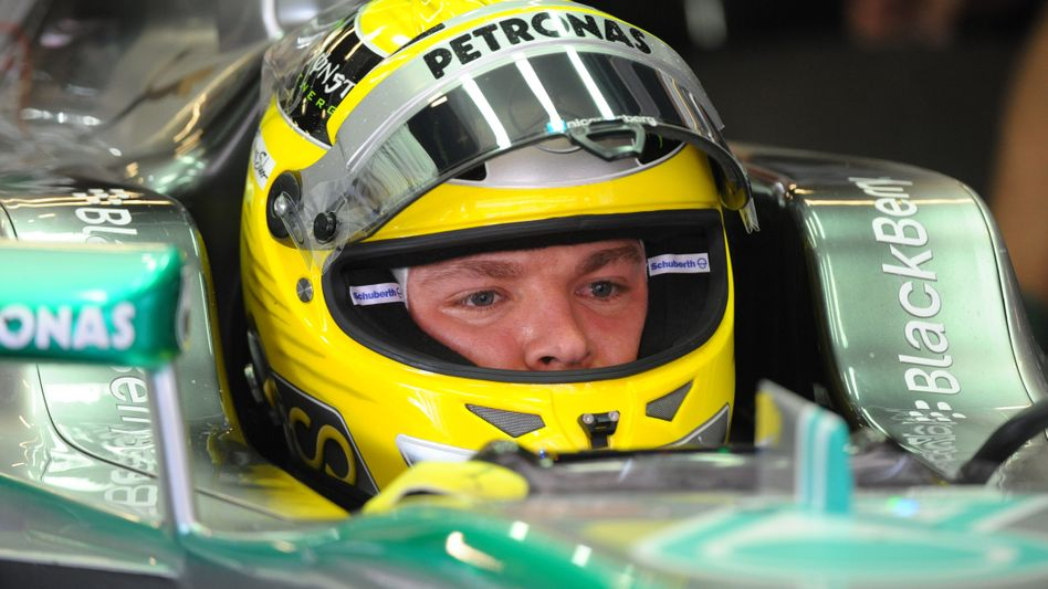 Mercedes-Pilot Rosberg: Erneut Erster im Qualifying