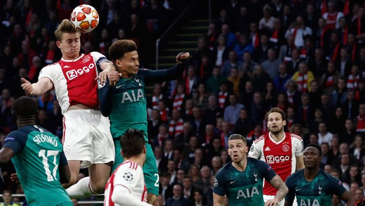 Tottenhams Aufholjagd: Die wilde Fahrt von Amsterdam