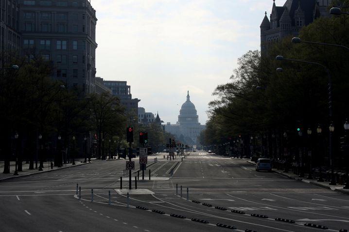 In den besseren Stadthälften von Washington, D.C., westlich des Kapitols gibt es bislang weniger Tote zu beklagen als in den weniger wohlhabenden Vierteln
