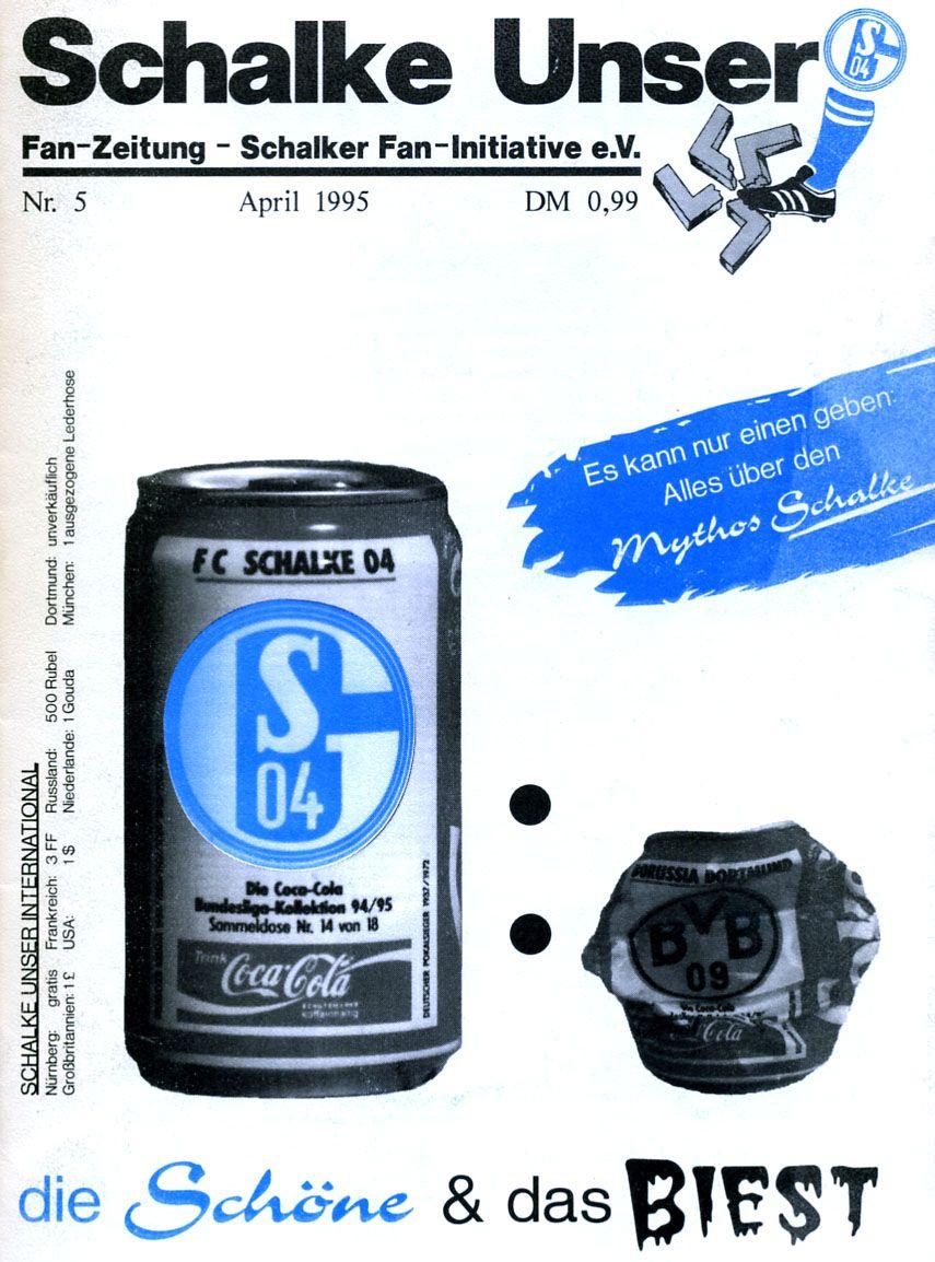 Derby: FC Schalke 04 vs. Borussia Dortmund in Fanzines - DER SPIEGEL