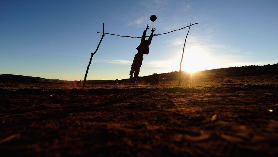Ballspiel in Johannesburg: Die Fußball-WM soll die Touristenzahlen in Südafrika steigern
