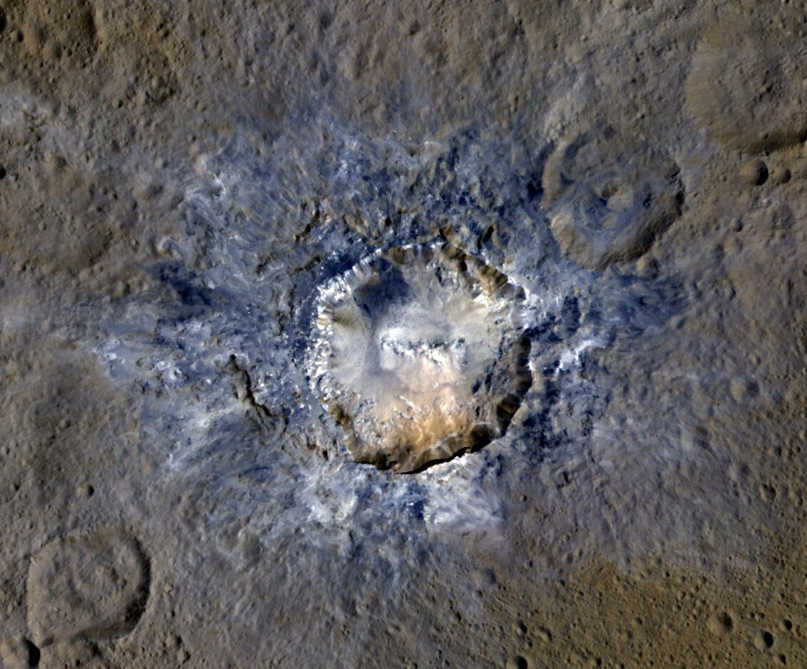 Nasa-Raumsonde Dawn Ceres