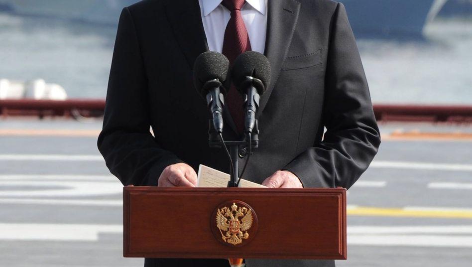Russischer Präsident Putin: Viel Rückhalt im eigenen Land