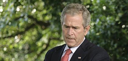 Präsident Bush: Krisentreffen im Weißen Haus