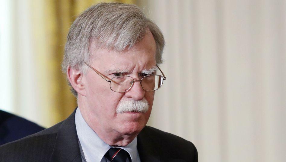 John Bolton, ehemaliger Sicherheitsberater des Präsidenten (Archivbild vom April 2018): Drängte, die Gelder an Kiew freizugeben