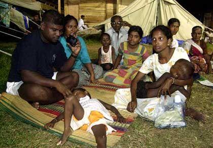 One thousand Sri Lankan families may soon get a tsunami-safe home.