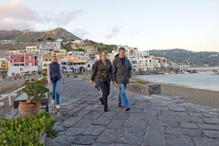 Angela Merkel und Joachim Sauer im Italienurlaub (2014)