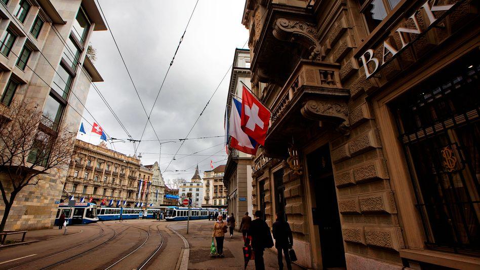 """Bankenviertel in Zürich: """"Das war die letzte Schlaumeierei"""""""
