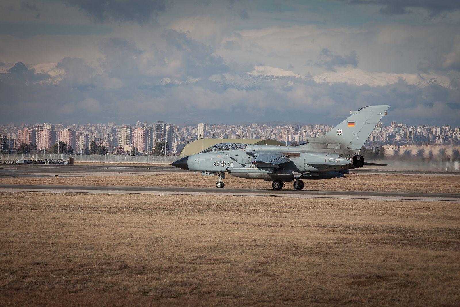 EINMALIGE VERWENDUNG Tornado Luftwaffenstützpunkt Incirlik