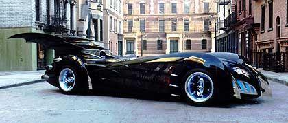 Automobile Visionen: Batmobil von Belker