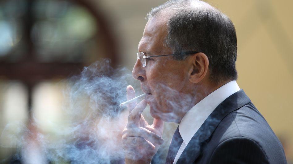 """Russlands Außenminister Lawrow: """"Auf dem festen Boden nationaler Interessen"""""""
