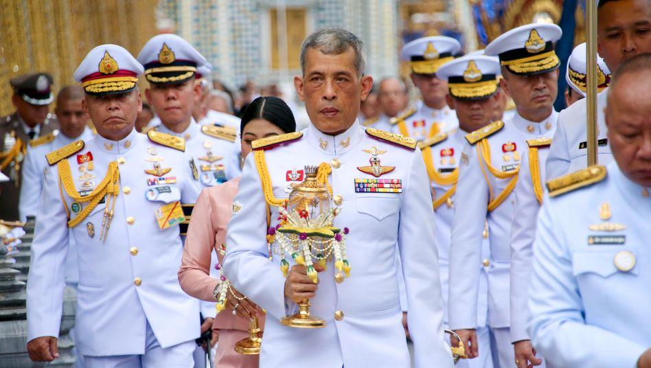 Thailands KönigMaha Vajiralongkorn residiert aktuell in Garmisch-Partenkirchen