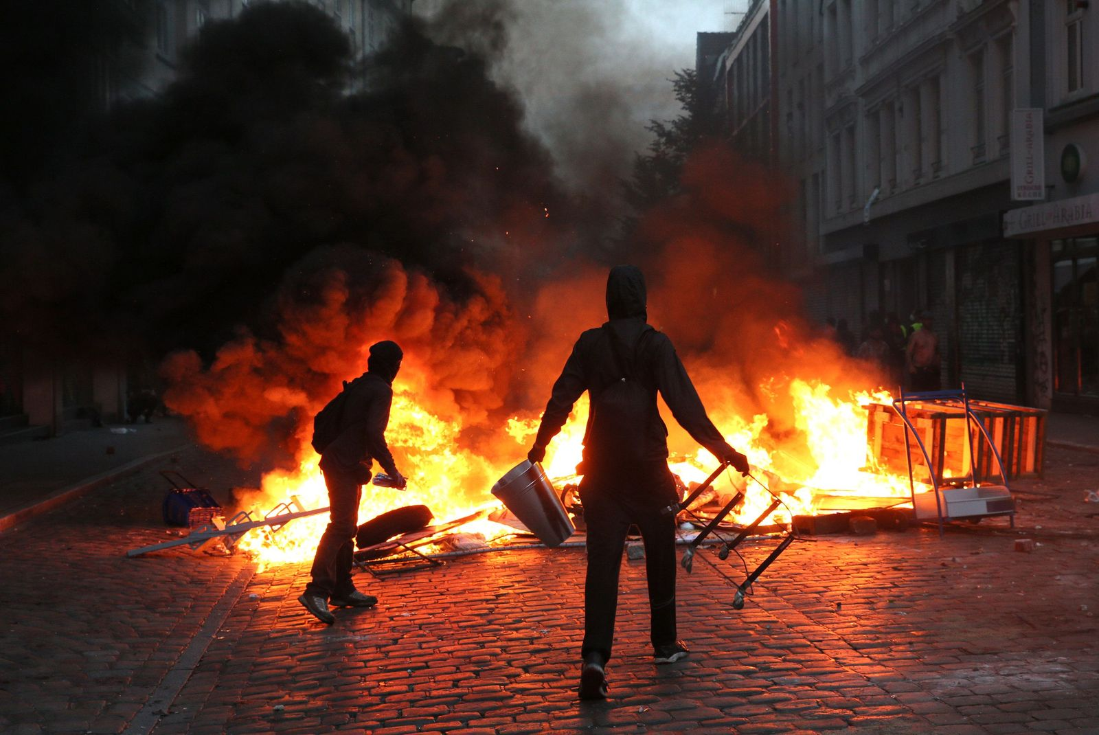 G20-Proteste - Hamburg