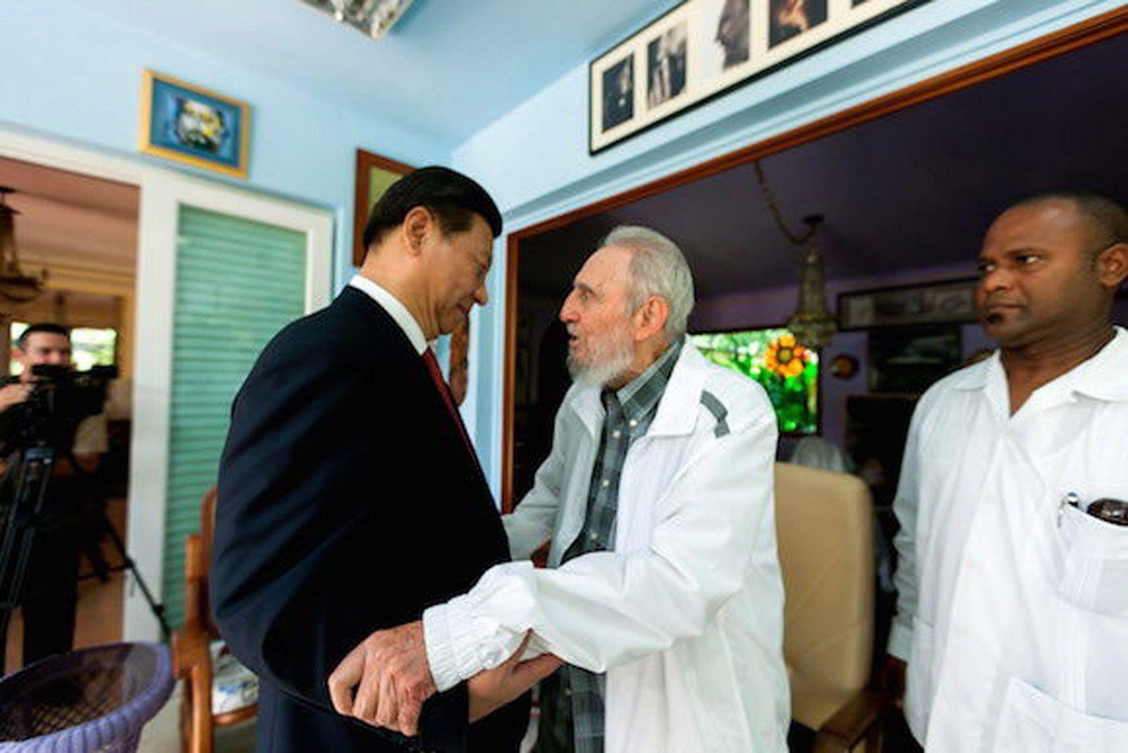 Kuba China Xi Jinping Fidel Castro