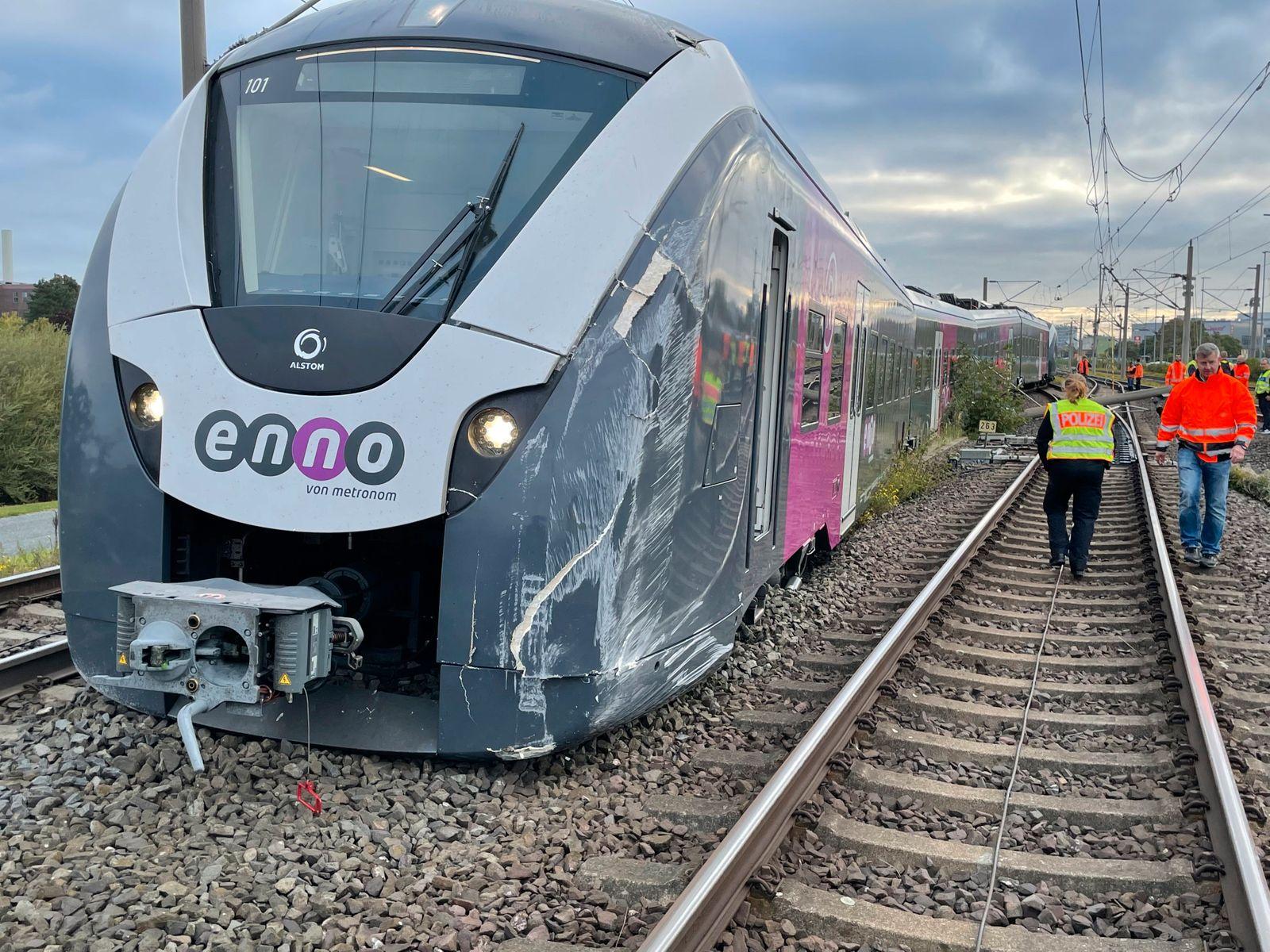 Bahnunfall bei Wolfsburg