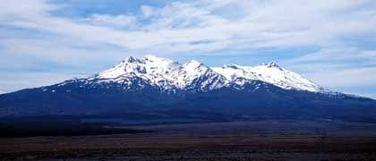 Mount Ruapehu in Neuseeland: Spannung vor dem Ausbruch
