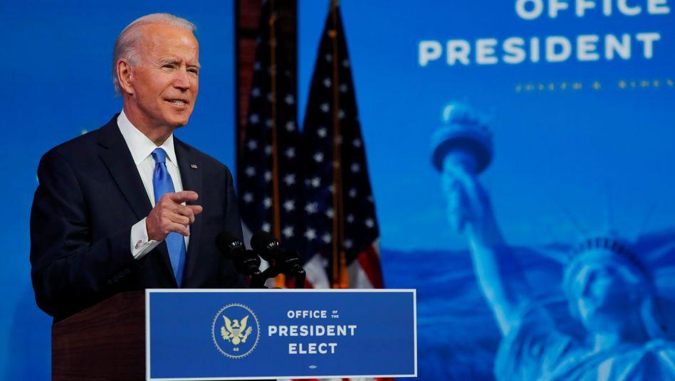 Joe Biden: »Diese Zahlen haben damals einen klaren Sieg dargestellt, und ich schlage respektvoll vor, dass sie das auch jetzt tun«