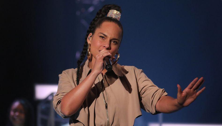 Sängerin Alicia Keys im Februar 2020