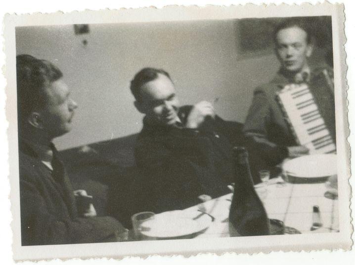 Matulewicz (Mitte) und Łazowski (rechts) musizierten auch zusammen