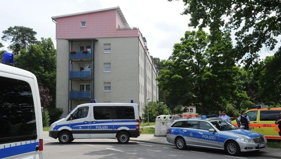 Tatort in Karlsruhe: Weitere illegal beschaffte Waffen gefunden