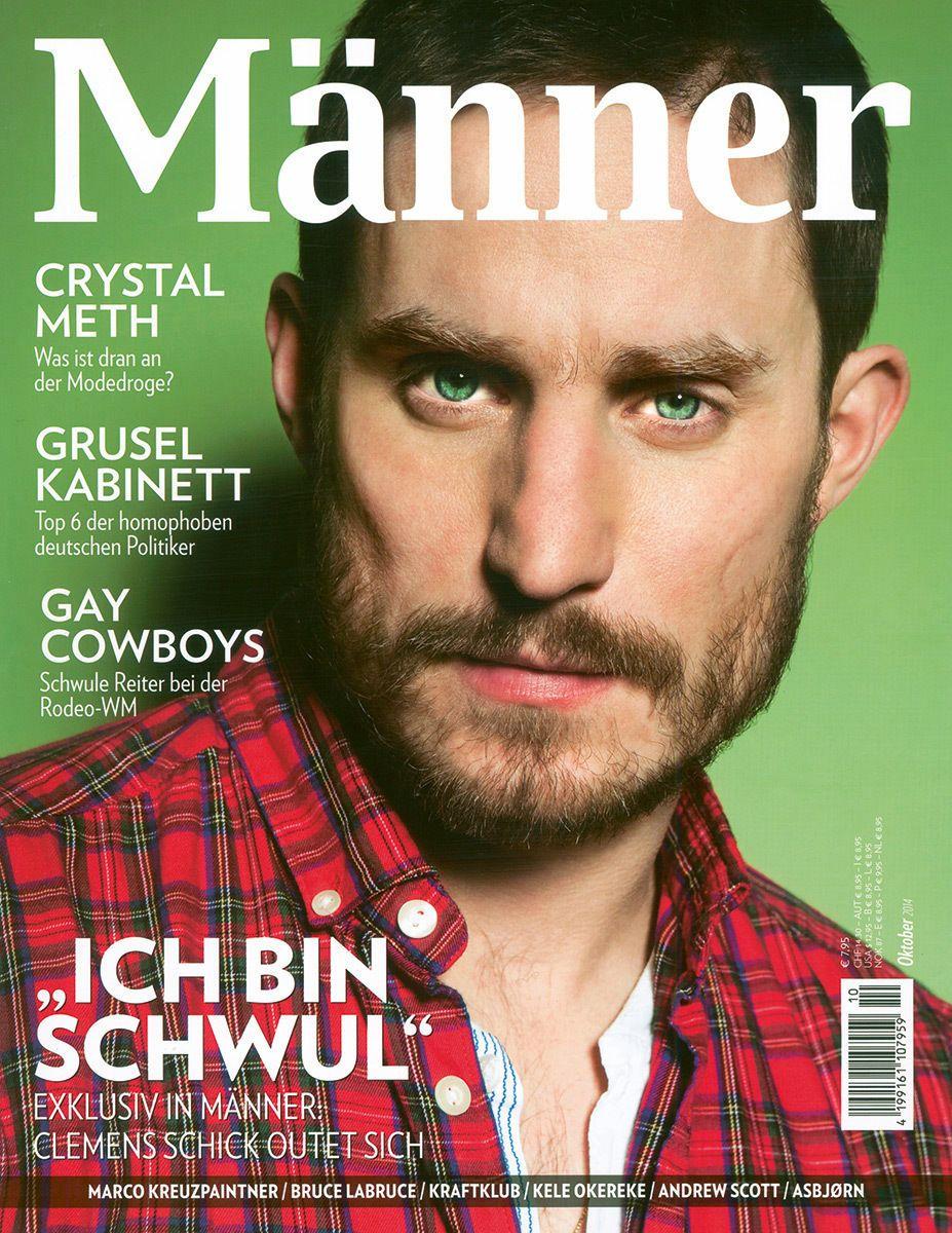 EINMALIGE VERWENDUNG Clemens Schick / Interview/ Cover
