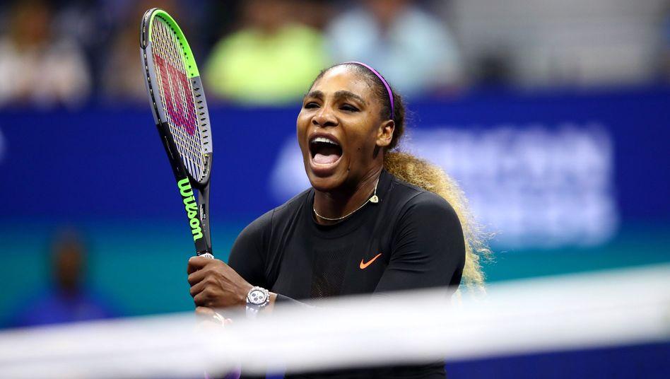 """Tennisstar Serena Williams: """"Sie hat absolut keine Angst gezeigt"""""""