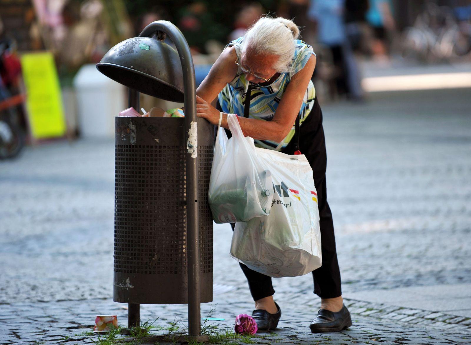 Armut / Müll / Armutsbericht /