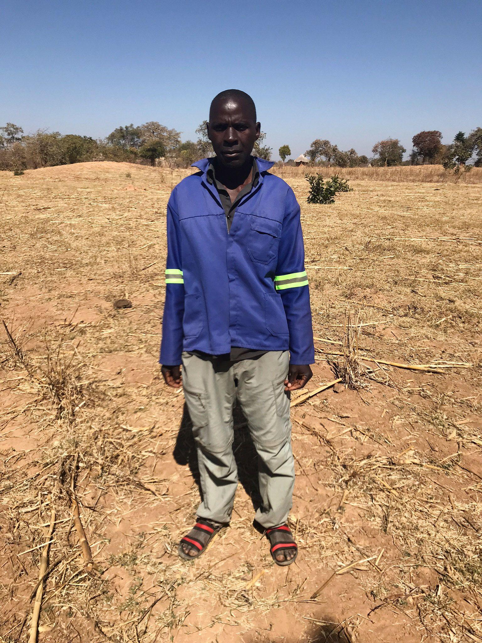 EINMALIGE VERWENDUNG Sambia/ Dürre
