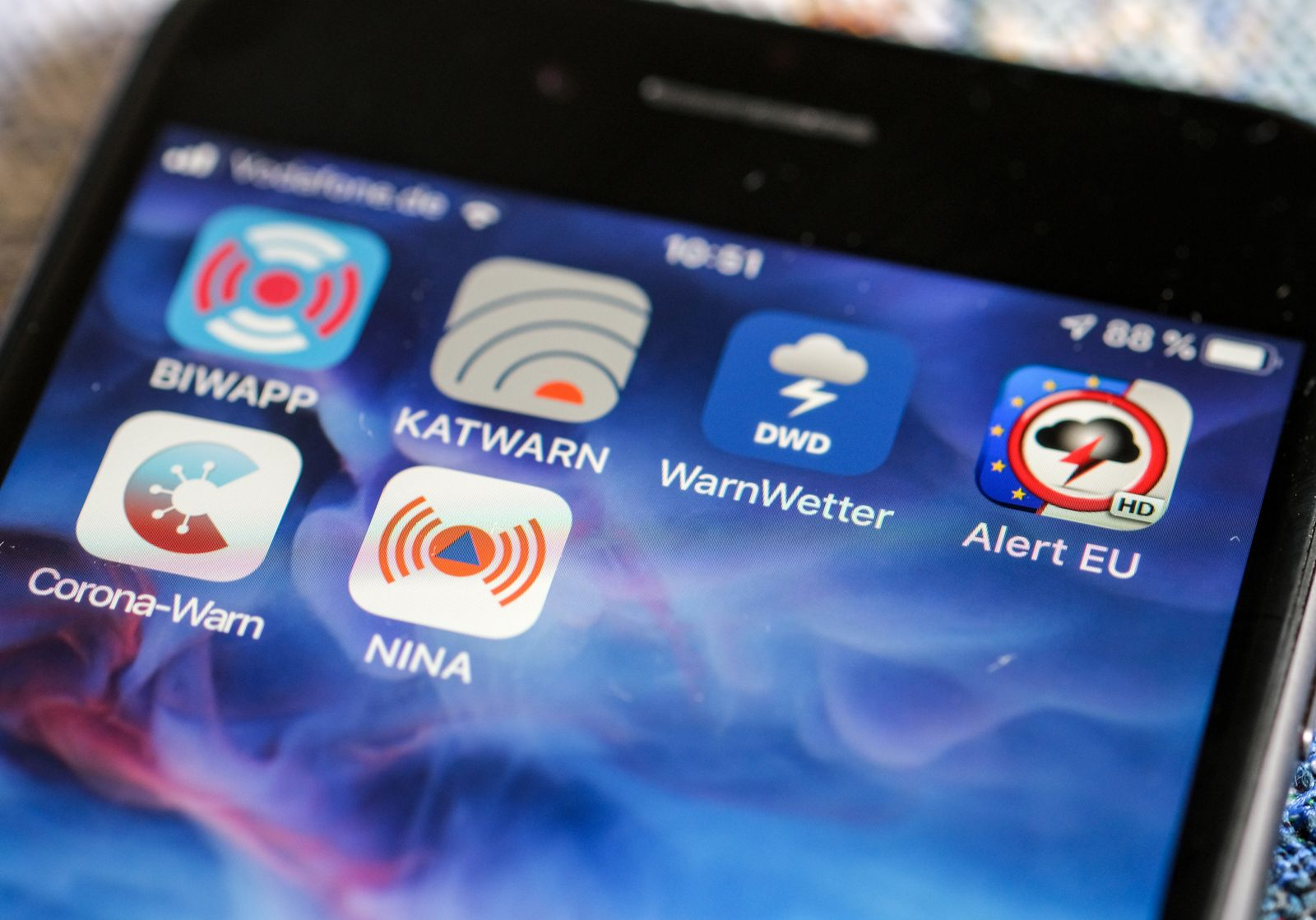 Warn-Apps in Berlin