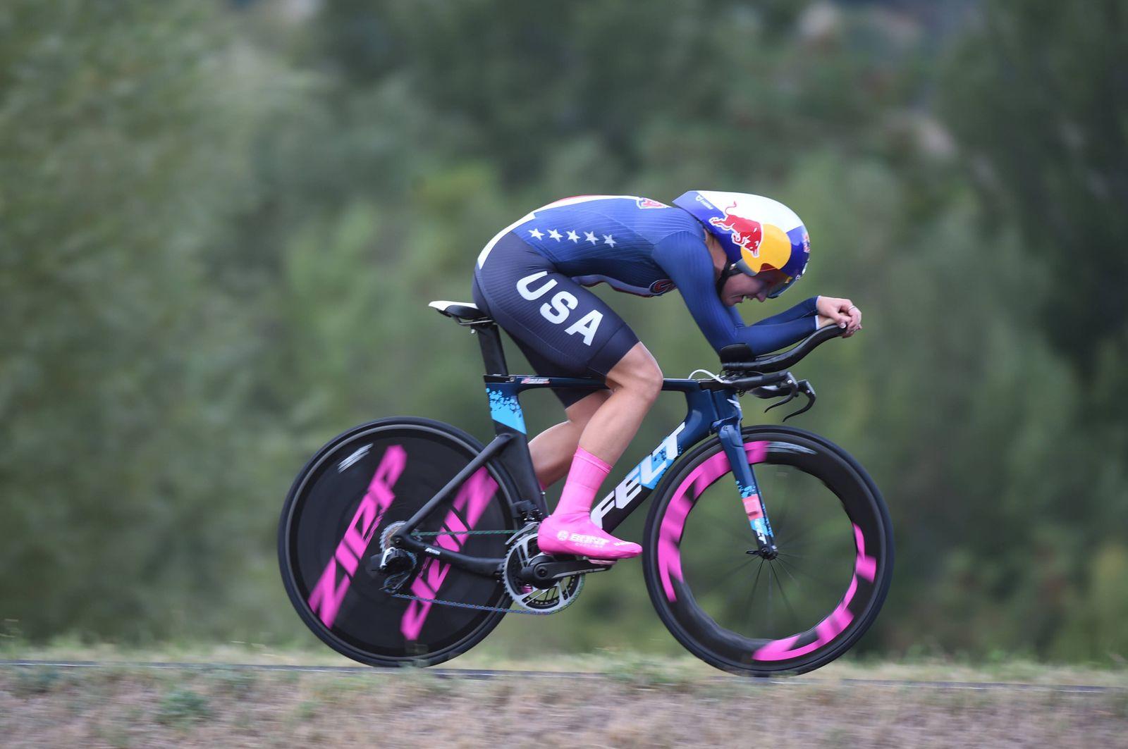 24-09-2020 World Championships Elite Women Cronometro; 2020, Usa; Dygert, Chloe; PUBLICATIONxNOTxINxITAxFRAxNED