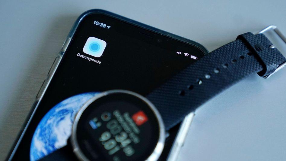 """""""Corona-Datenspende"""" ist eine App für Fitnessarmbänder und Smartwatches"""