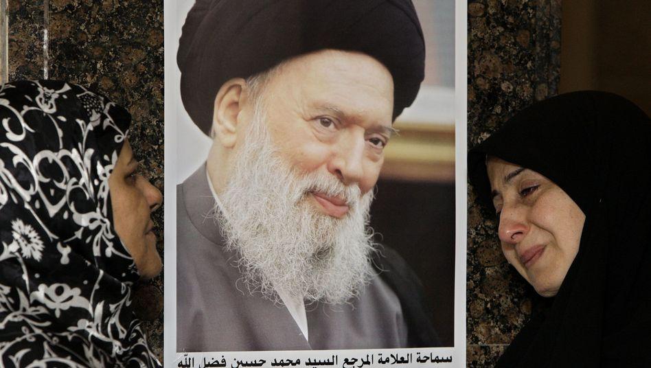 Trauer um den Großajatollah: Mohammed Hussein Fadlallah starb im Alter von 75 Jahren