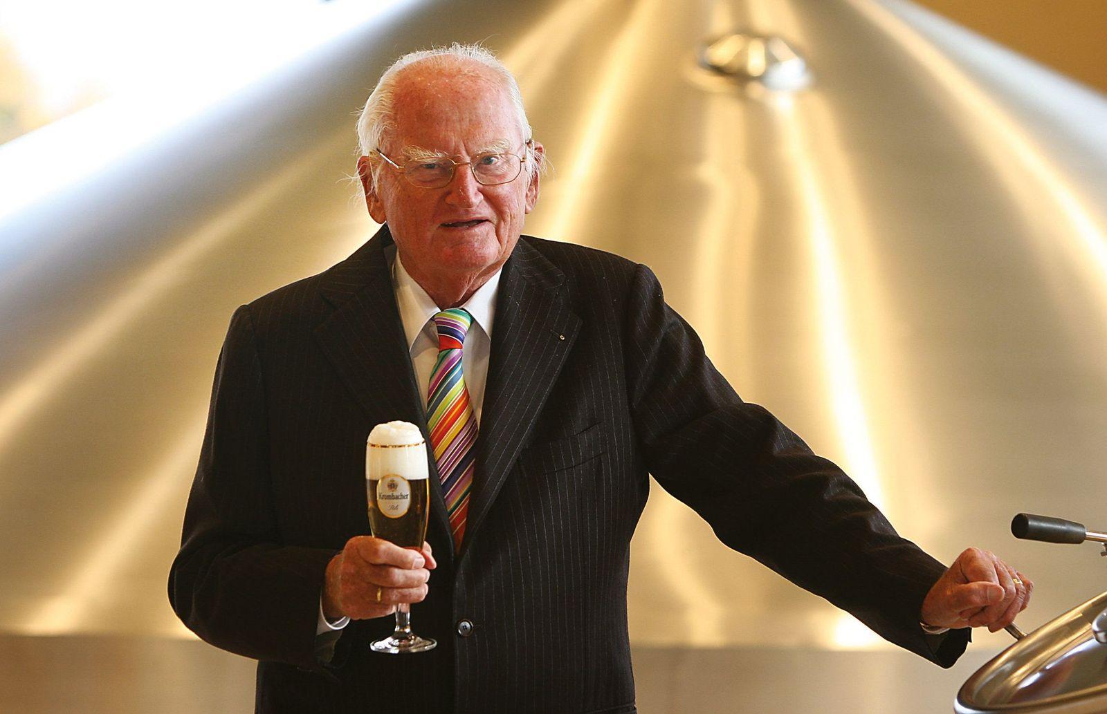 Krombacher-Seniorchef Schadeberg mit 98 Jahren gestorben