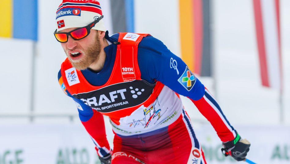 Norweger Sundby: Steht vor seinem dritten Tour-de-Ski-Sieg in Serie