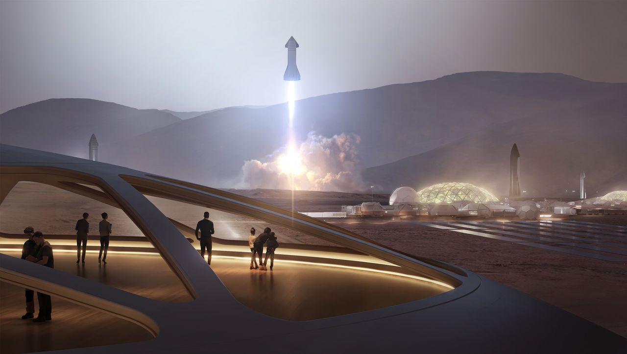 SpaceX-Berater im Kinder-Interview: »Wir wollen eine Stadt auf dem Mars bauen« - DER SPIEGEL