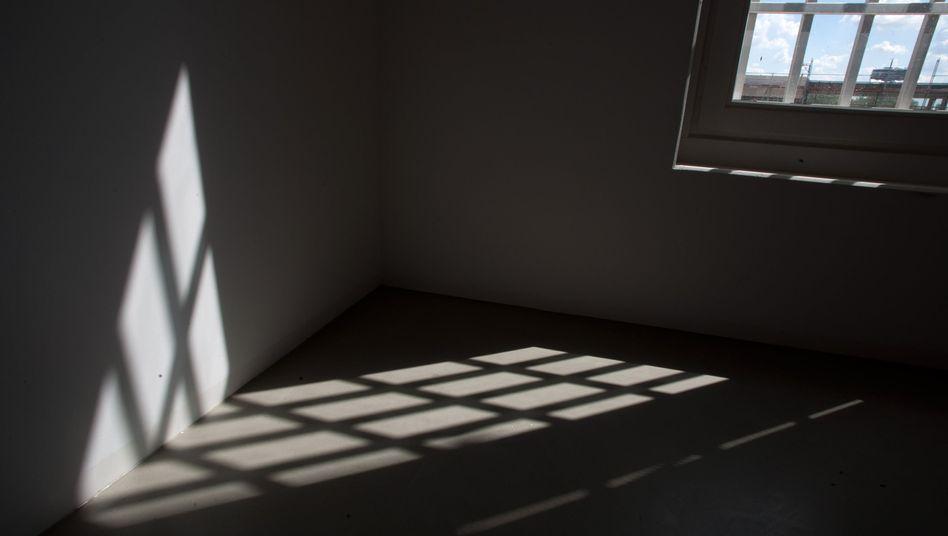 Gefängniszelle in Heidering südlich von Berlin