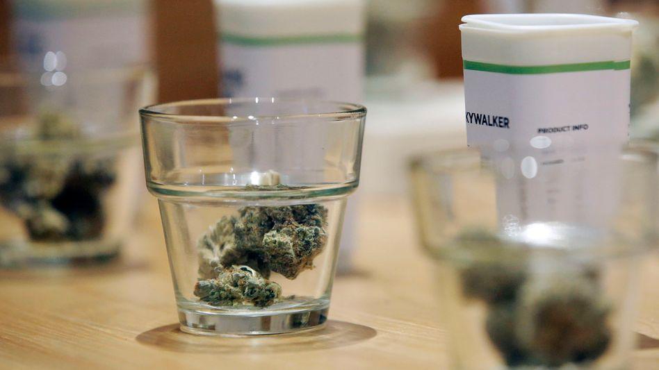 Legales Cannabisprodukt im US-Bundesstaat Massachusetts