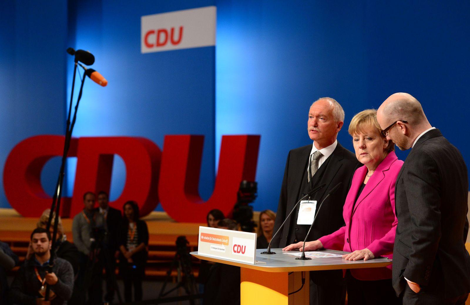 Merkel/ parteitag Köln