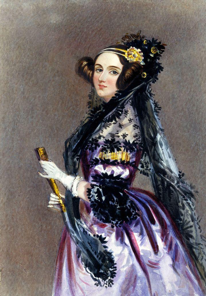 Gemälde von Ada Lovelace