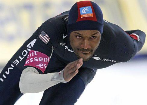 Eisschnellläufer Davis: Sieger über 1500 Meter