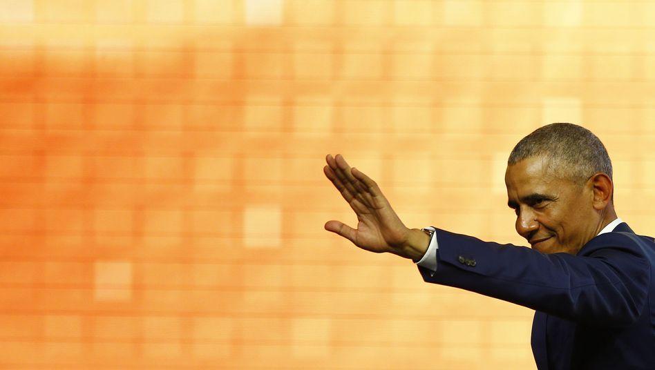 Ausgeschlafen: der frühere US-Präsident Barack Obama (Archiv)