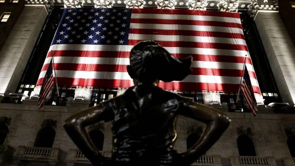 Linkes Hassobjekt in den USA: Die Wall Street