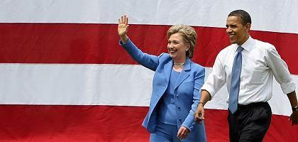 Clinton, Obama: Internationale Herausforderungen sind gewaltig