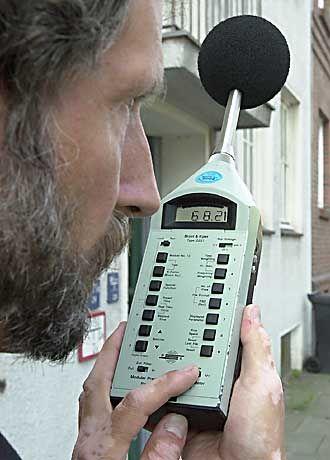 Lärmmessung: Ton ohne Ursache